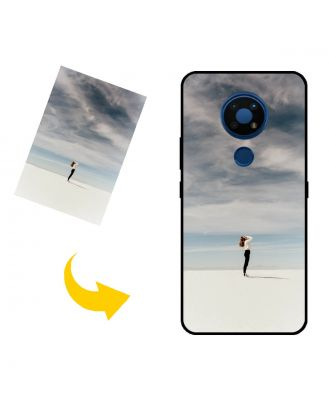 Na mieru vyrobené Nokia C5 Endi puzdro na telefón s vlastnými fotografiami, textami, dizajnom atď.