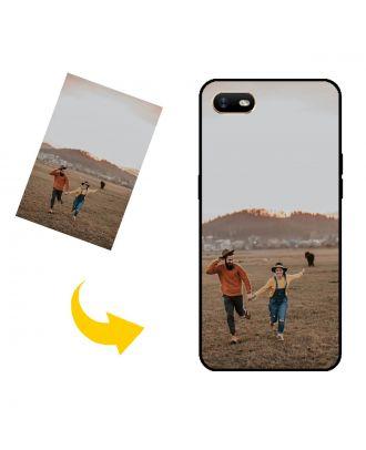 Egendefinert OPPO A1k telefonveske med eget design, bilder, tekster osv.