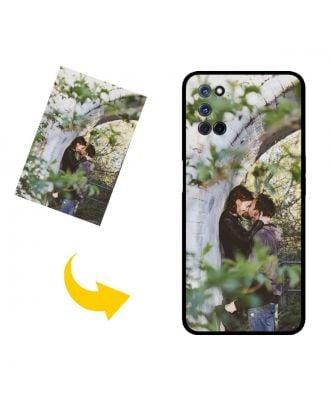 Personalizované OPPO A52 puzdro na telefón s vlastným dizajnom, fotografiami, textami atď.