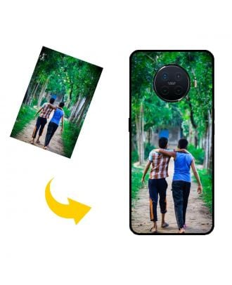 Tilpasset OPPO Ace2 telefonveske med eget design, bilder, tekster, etc.