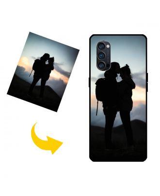 Tilpasset OPPO Reno4 Pro telefon etui med dit eget design, fotos, tekster osv.