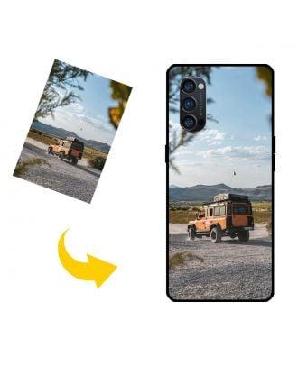 Виготовлений на замовлення OPPO Reno4 Pro 5G чохол для телефону з власними фотографіями, текстами, дизайном тощо.