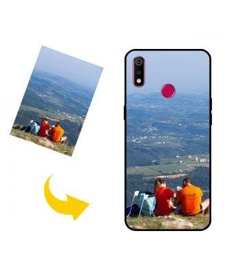Brugerdefineret Realme 3i telefon sag med dit eget design, fotos, tekster osv.