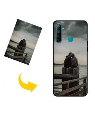 Brugerdefineret Realme 5i telefon sag med dit eget design, fotos, tekster osv.