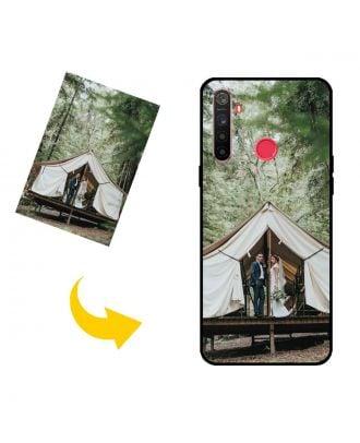 Prispôsobené Realme 5s puzdro na telefón s vlastným dizajnom, fotografiami, textami atď.