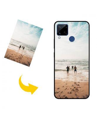 Räätälöity Realme C15 puhelinkotelo, jossa on omat valokuvat, tekstit, suunnittelu jne.
