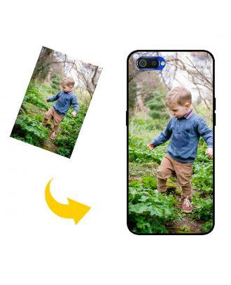 Personalizované Realme C2 puzdro na telefón s vlastným dizajnom, fotografiami, textami atď.