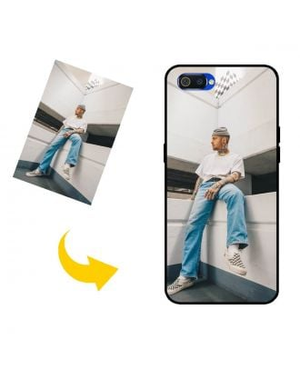 Aangepast Realme C2 2020 telefoonhoesje met uw eigen ontwerp, foto's, teksten, etc.