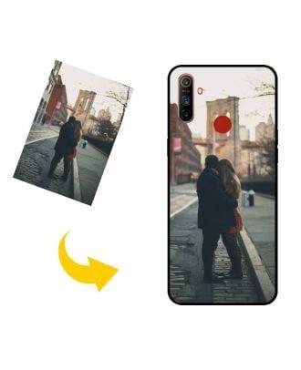 Henkilökohtainen Realme C3i puhelinkotelo, jossa on omat valokuvat, tekstit, suunnittelu jne.