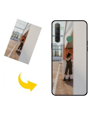 Henkilökohtainen Realme Narzo 10 puhelinkotelo, jossa on omat valokuvat, tekstit, suunnittelu jne.