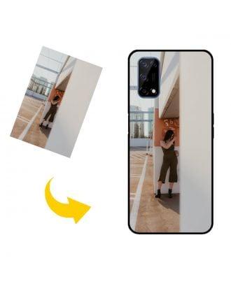 Aangepast Realme V5 5G telefoonhoesje met je eigen foto's, teksten, ontwerp, etc.