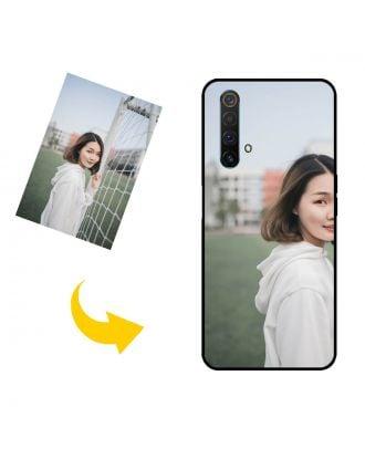 Mukautettu Realme X50 5G (China) puhelinkotelo valokuvillesi, teksteillesi, suunnittelulle jne.