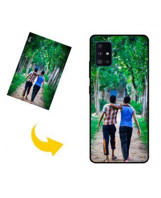 Carcasa de teléfono Samsung Galaxy A51 5G UW personalizada con sus propias fotos, textos, diseño, etc.