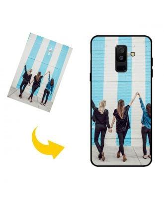 Henkilökohtainen Samsung Galaxy A6+ (2018) puhelinkotelo, jossa on oma muotoilusi, valokuvasi, tekstisi jne.