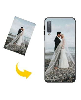 Customized Samsung Galaxy A7 (2018) Phone Case with Your Own Photos, Texts, Design, etc.