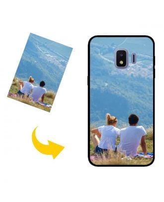 Kendi Fotoğraflarınız, Metinleriniz, Tasarımınız vb.İle Özel Yapılmış Samsung Galaxy J2 Core (2020) Telefon Kılıfı