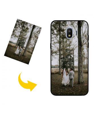 Skræddersyet Samsung Galaxy J2 Pro (2018) telefon taske med dit eget design, fotos, tekster osv.