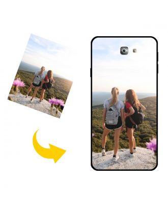Egendefinert Samsung Galaxy J7 Prime 2 telefonveske med eget design, bilder, tekster osv.