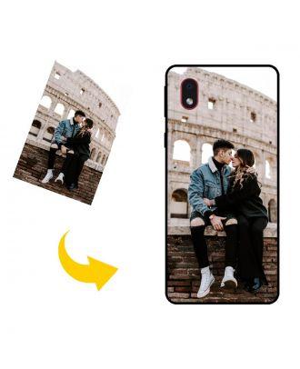 Brugerdefineret Samsung Galaxy M01 Core telefon sag med dit eget design, fotos, tekster osv.
