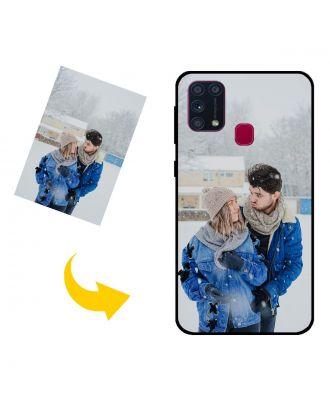 Brugerdefineret Samsung Galaxy M31s telefonetui med dine egne fotos, tekster, design osv.