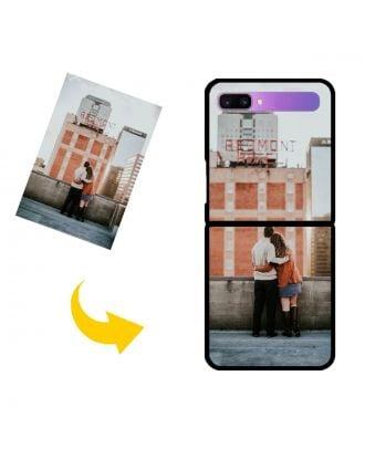 Personlig Samsung Galaxy Z Flip telefonetui med dit eget design, fotos, tekster osv.