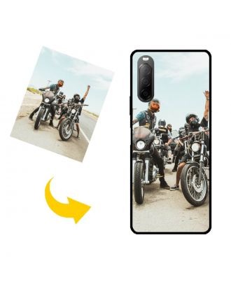 Custom SONY Xperia 10 II Phone Case with Your Own Design, Photos, Texts, etc.