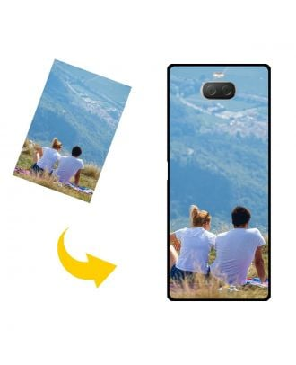 Custom SONY Xperia 10 Plus Phone Case with Your Own Design, Photos, Texts, etc.