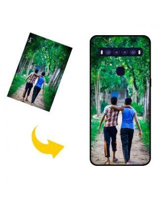 Personalizované TCL 10 5G puzdro na telefón s vlastnými fotografiami, textami, dizajnom atď.