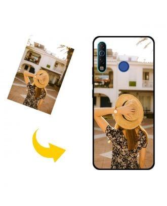 Kendi Fotoğraflarınız, Metinleriniz, Tasarımınız vb.İle Özelleştirilmiş TECNO Camon 12 Telefon Kılıfı
