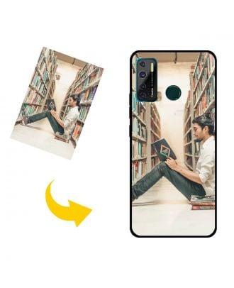 Carcasa de teléfono TECNO Camon 15 Air personalizada con su propio diseño, fotos, textos, etc.