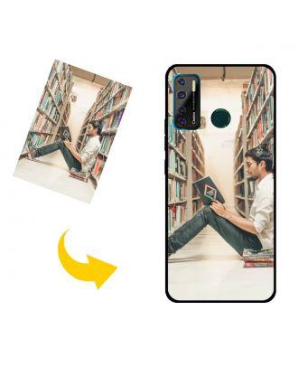 Customized TECNO Camon 15 Air Phone Case with Your Own Design, Photos, Texts, etc.