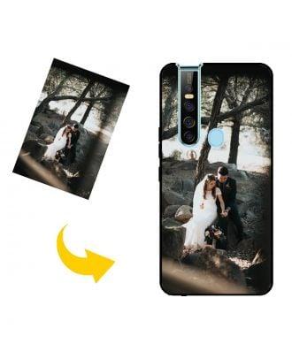 Персоналізований TECNO Camon 15 Pro чохол для телефону з вашими фотографіями, текстами, дизайном тощо.