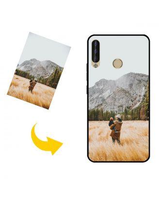 Skræddersyet TECNO Pouvoir 3 Plus telefon taske med dit eget design, fotos, tekster osv.