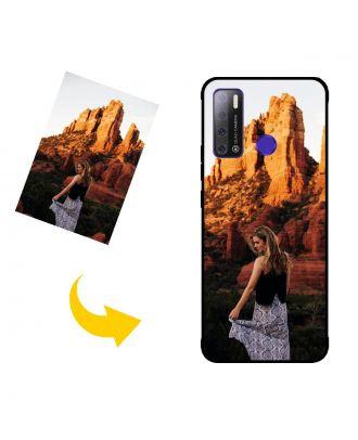 Henkilökohtainen TECNO Pouvoir 4 puhelinkotelo, jossa on oma muotoilusi, valokuvasi, tekstisi jne.