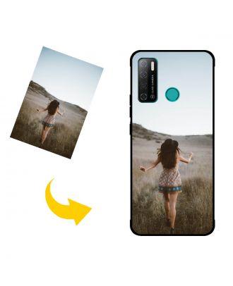 Індивідуальний TECNO Pouvoir 4 Pro чохол для телефону з власними фотографіями, текстами, дизайном тощо.
