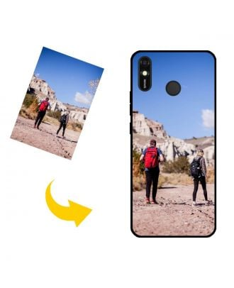 Customized TECNO Spark 4 Lite Phone Case with Your Own Design, Photos, Texts, etc.
