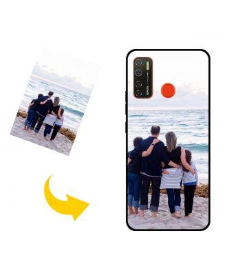 Aangepast TECNO Spark 5 telefoonhoesje met uw foto's, teksten, ontwerp, etc.