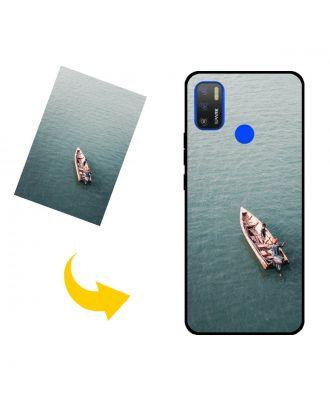 Räätälöity TECNO Spark 5 Air puhelinkotelo, jossa on omat valokuvat, tekstit, suunnittelu jne.