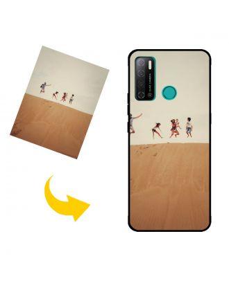 Prispôsobené TECNO Spark Power 2 puzdro na telefón s vlastnými fotografiami, textami, dizajnom atď.