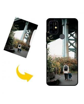 Henkilökohtainen UMIDIGI Power 3 puhelinkotelo, jossa on valokuvia, tekstejä, muotoilua jne.
