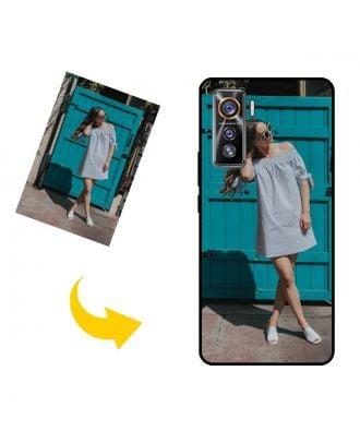 Carcasa de teléfono vivo iQOO 5 5G personalizada con sus propias fotos, textos, diseño, etc.