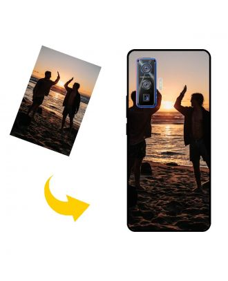 Customized vivo iQOO 5 Pro 5G Phone Case with Your Photos, Texts, Design, etc.