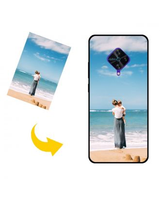 Tilpasset vivo S1 Prime telefonveske med bilder, tekster, design osv.