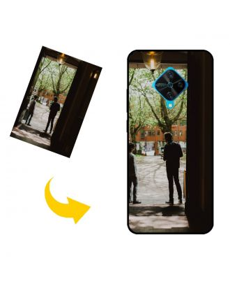 Custom vivo V17 (Russia) Phone Case with Your Own Photos, Texts, Design, etc.