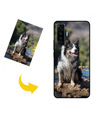 Funda para teléfono vivo X50 5G personalizada con sus propias fotos, textos, diseño, etc.