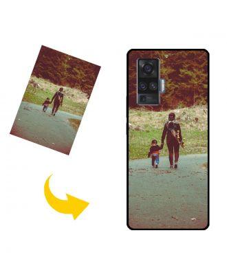 Carcasa de teléfono vivo X50 Pro personalizada con sus fotos, textos, diseño, etc.