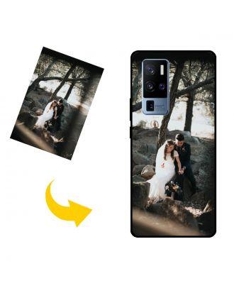 Skreddersydd vivo X50 Pro+ telefonveske med egne bilder, tekster, design osv.