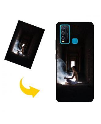 Carcasa de teléfono vivo Y30 personalizada con su propio diseño, fotos, textos, etc.