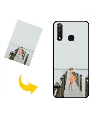 Skreddersydd vivo Y5s telefonveske med bilder, tekster, design osv.