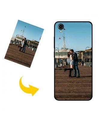 Gepersonaliseerd vivo Y90 telefoonhoesje met je eigen foto's, teksten, ontwerp, etc.